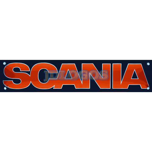 Scania Number Plate