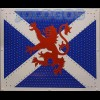 Rampant Lion on Scottish Flag