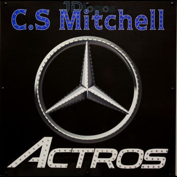 Custom Mercedes New Logo
