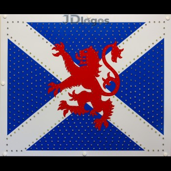 Rampant Lion on Scottish Flag